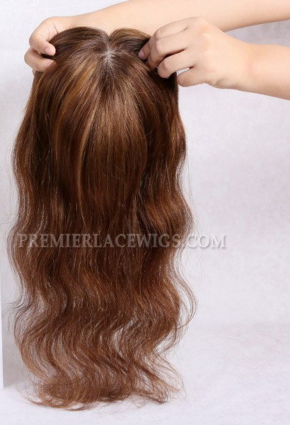 HairPieces Toppers For Thinning Hair and Partial Hair Loss ...