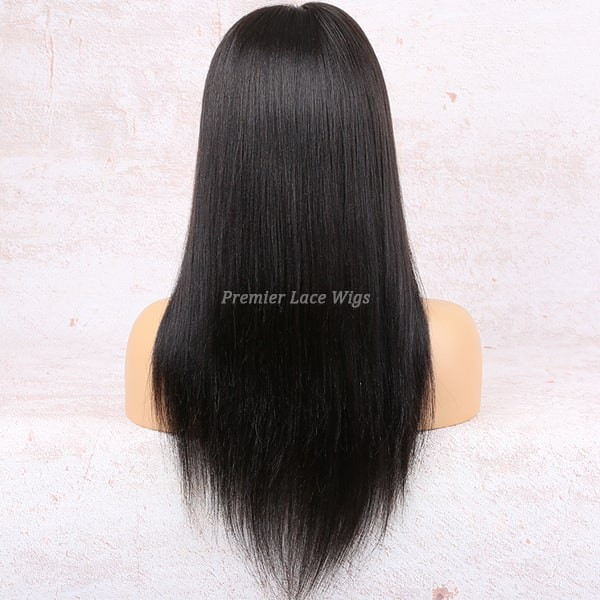 Invisible Knots Transparent Hd Lace Yaki Straight 6 Lace Frontal