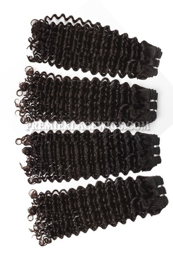 Brazilian Virgin Hair Weave Deep Curl 4ozs thick Hair 4 Bundles Deal