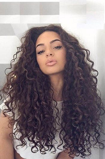 Sexy Natural Curls 360 Lace Wig
