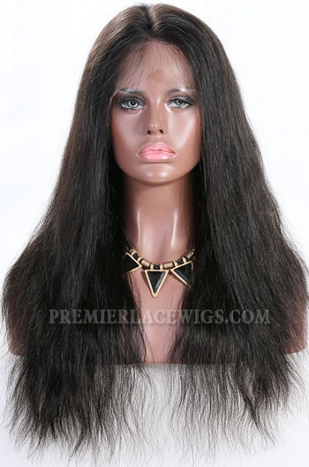 """Natural Straight 6"""" Deep Part 360° Lace Wigs,Indian Remy Hair,150% Thick Density,Pre-Plucked Hairline,Removable Elastic Bands"""