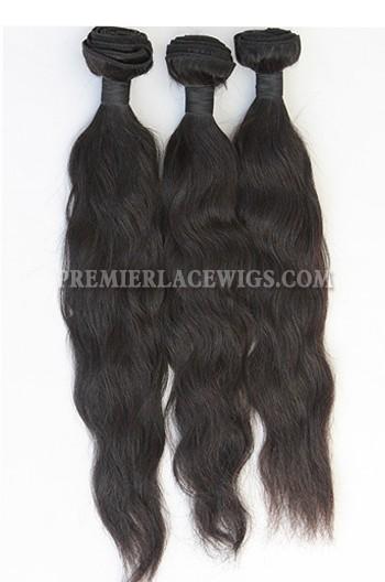 3 Bundles Deal Peruvian Virgin Hair Natural Color Natural Straight Hair Extension