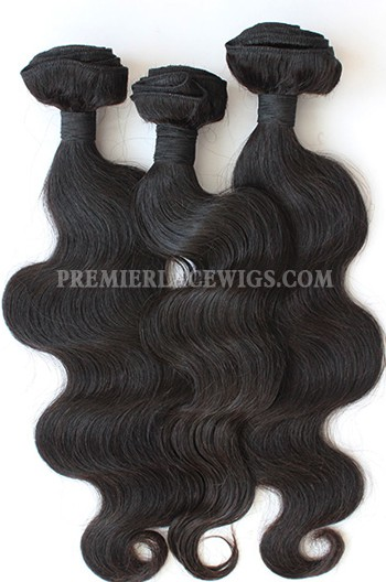 3 Bundles Deal Peruvian Virgin Hair Natural Color Body Wave Hair Extension