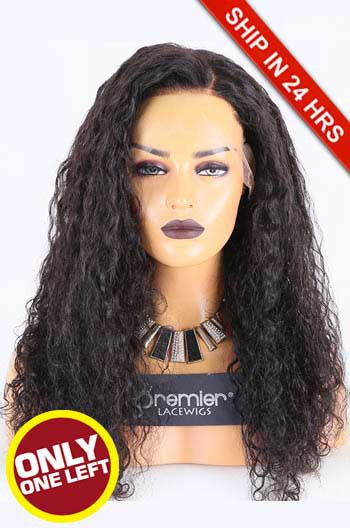 Super Deal 13*6 HD Lace Front Wig,Virgin Human Hair Natural Color,20 inches Wet Wavy 180% Thick Density, Medium Size,Transparent Lace.