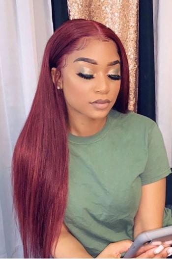 Burgundy Hair Color #99J