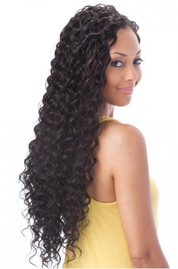 Brazilian Virgin Hair Full Lace Wigs Deep Wave