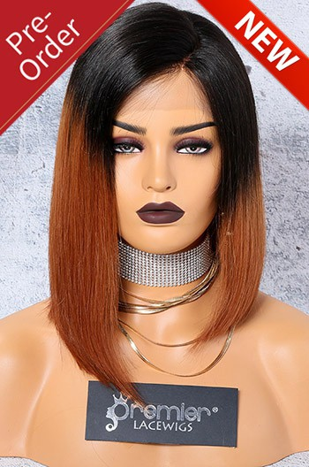 52fd553d9 Luxury Bright Copper Ombre Hair Asymmetrical Bob, 4.5