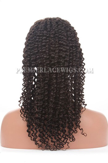 Brazilian deep curl full lace wig