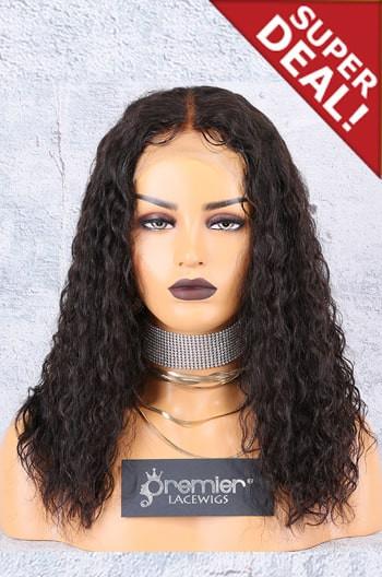 Long Bob Cut Permanent Root To Tip Loose Curls