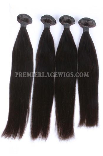 Peruvian Virgin Hair Silky Straight Hair Extension 4Bundles Deal