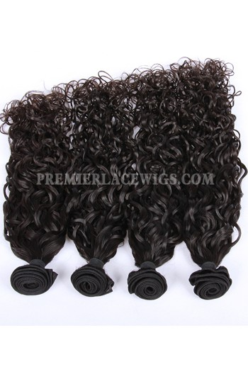 Peruvian Virgin Hair Loose Curl Hair Extension 4 Bundles Deal