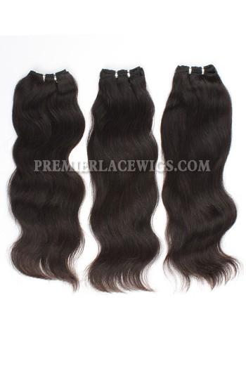 Brazilian Virgin Hair Weave Natural Straight 4ozs thick Hair 3 Bundles Deal