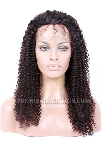 20inches , natural color , 120% normal density , kinky curl