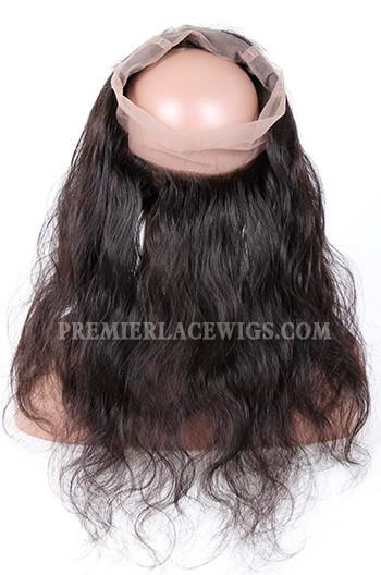 Peruvian Virgin Hair 360°Circular Lace Frontal Body Wave