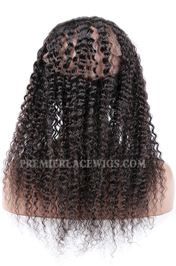 Peruvian Virgin Hair 360°Circular Lace Frontal Deep Wave