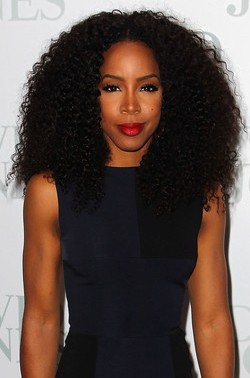 kelly rowland natural hair styles rowland black hair jerry curl lace wigs 6351 | s 2