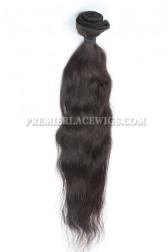 Peruvian Virgin Hair Bundles Natural Straight Hair Extension 100g