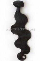 Natural Color Peruvian Virgin Hair Wefts Body Wave
