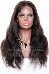 1B/30# Highlights Full Lace Wigs Indian Remy Hair Natural Straight{Not In Stock,Need 30 Working Days To Process}