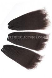 Luxury Brazilian Virgin Hair Weave Kinky Straight 4ozs Thick Hair 3 Bundles Deal
