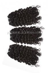 Luxury Brazilian Virgin Hair Weave Candy Curl 4ozs Thick Hair 3 Bundles Deal