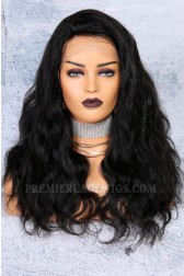 "250% Density 4.5"" Lace Front Wigs Indian Remy Hair Body Wave Big Bomb Hair Seriously Thick Look"
