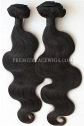 Body Wave Natural Color Peruvian Virgin Hair Weave 2 Bundles Hair Deal