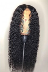 Wet Wavy Hair Full Lace Wig Indian Remy Hair