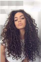 Sexy Natural Curls 360 Lace Wig,Brazilian Virgin Hair,150% Thick Density,Pre-Plucked Hairline