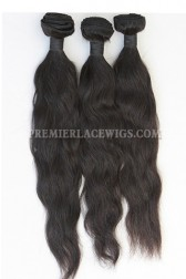 3 Bundles Deal Peruvian Virgin Hair Natural Color Natural Straight Hair Extension