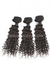 3 Bundles Deal Peruvian Virgin Hair Natural Color Deep Body Wave Hair Extension