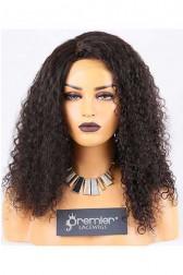 Clearance Silk Top Full Lace Wig,10mm Curl,Malaysian Virgin Hair,Natural Color,20 inches,120% Normal Density,Medium Cap Size,Medium Brown Silk
