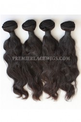 Peruvian Virgin Hair Natural Wave Hair Extension 4Bundles Deal
