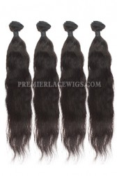 Peruvian Virgin Hair Natural Straight Hair Extension 4Bundles Deal