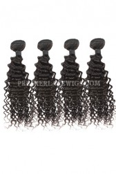 Peruvian Virgin Hair Deep Body Wave Hair Extension 4Bundles Deal