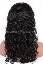 Brazilian Virgin Hair Peruvian Curl Glueless Lace Front Wigs
