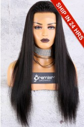 Affordable 13x4.5 Lace Frontal Wig,Yaki Straight