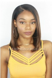 TwinGodesses's Brown Ombre Bob Style Lace Front Wig