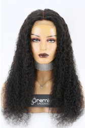 """Wet Curls 4""""x4"""" Lace Closure Wig Indian Remy Hair [Production Time 7 working days]"""