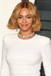2015 Oscars Beyonce New Bob Inspired Ombre Blonde Color Lace Front Wigs