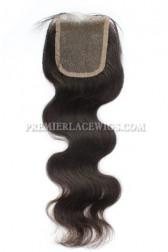 Peruvian Virgin Hair Lace Closure 4X4inches Body Wave