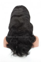 Chinese Virgin Hair Body Wave Glueless Lace Front Wigs