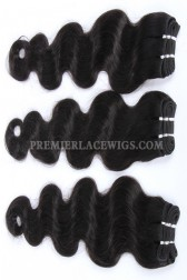 Luxury Brazilian Virgin Hair Weave Body Wave 4ozs Thick Hair 3 Bundles Deal