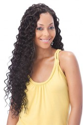 Brazilian Virgin Hair Deep Wave Glueless Lace Front Wigs