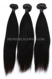 Indian Virgin Hair Weaves Silky Straight 3 Bundles Deal