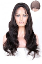 Brazilian Virgin Hair Silk Top Full Lace Wigs Body Wave