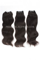 Luxury Brazilian Virgin Hair Weave Natural Straight 4ozs Thick Hair 3 Bundles Deal