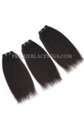 Luxury Brazilian Virgin Hair Weave Italian Yaki 4ozs Thick Hair 3 Bundles Deal