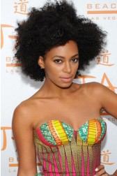 Solange Knowles Inspired Afro Kinky Curly Glueless Human Hair Wigs{Processing Wait Time 20 Days}