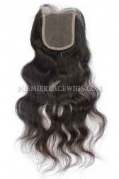 Peruvian Virgin Hair Lace Closure Natural Straight 4x4inches